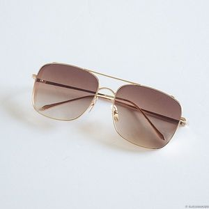 Accessories - Brown Gradient Sunglasses